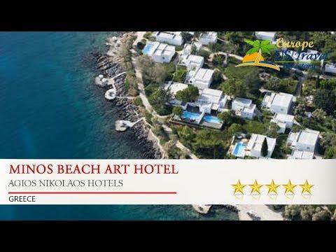 Minos Beach Art Hotel - Agios Nikolaos Hotels, Greece