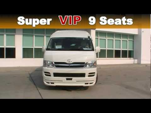 Toyota Commuter Super Vip 9 Seat Ep 3 Youtube