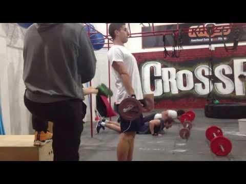 Entrenamiento 22 de Mayo 2013 en CrossFit del Sur - Montevideo - Uruguay