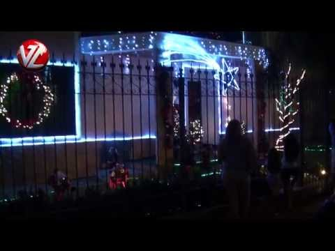 Tradicional decoração de Natal da Rua Vicente de Paula em Volta Redonda