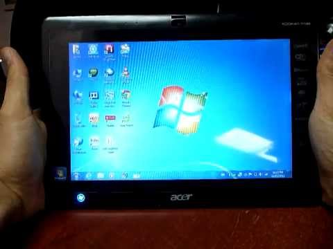 Acer Iconia Tab w500 with keyboard dock