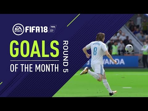FIFA 18 | Goals of the Month | Round 5