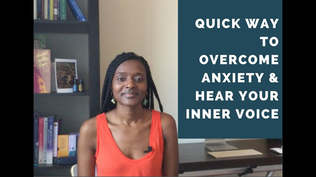 A Quick Way To Overcome Anxiety