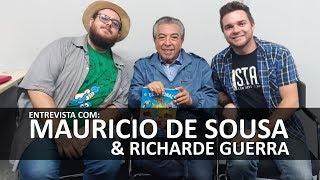 Bate Papo com Mauricio de Sousa e Richard Guerra