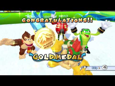 Mario & Sonic at the Winter Olympic Games (Wii) All Events 1