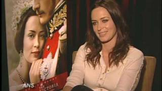 EMILY BLUNT ANS THE YOUNG VICTORIA INTERVIEW FEATURE