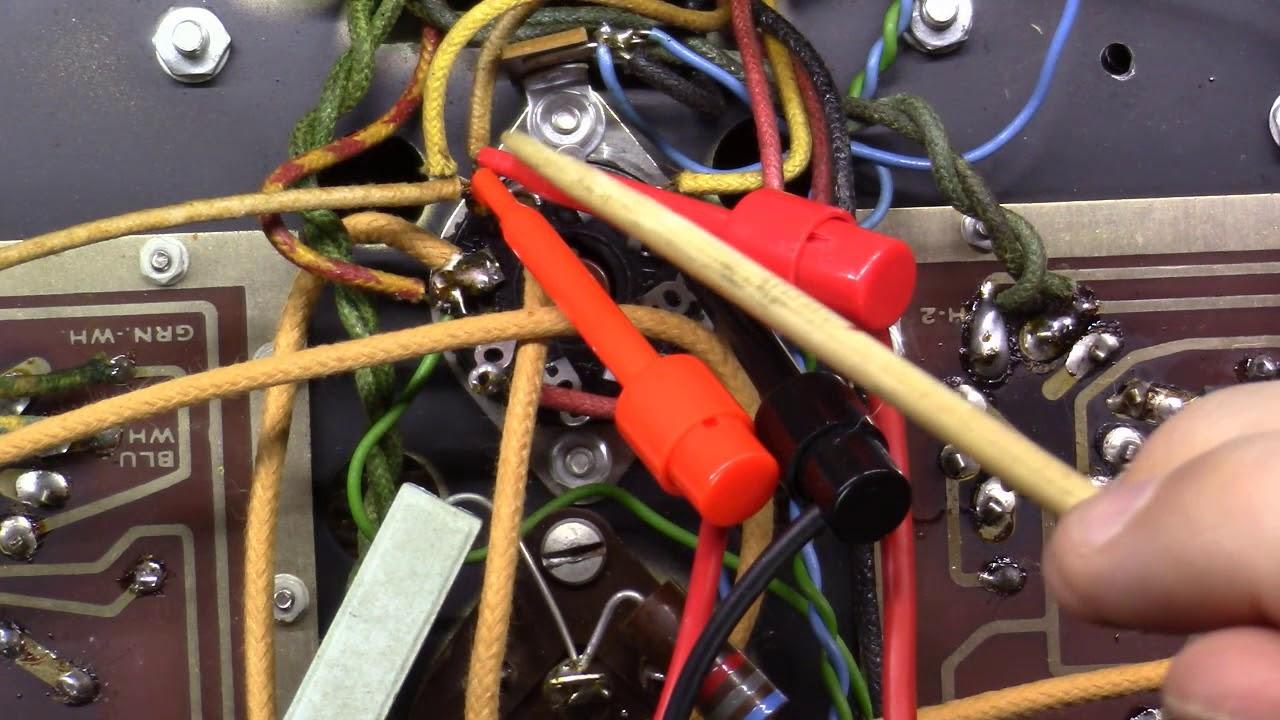 Understanding Vacuum Tube Amplifier Schematics Ac And Dc Combined Part 4