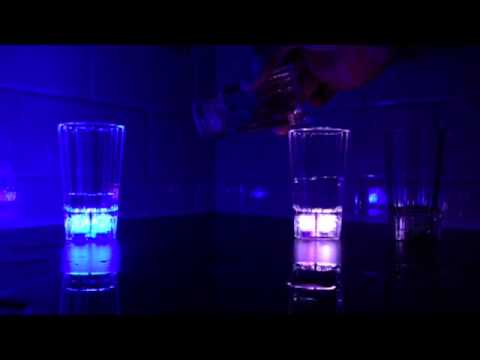 Liquid Activated Light Up Shot Glasses for Maria in Nicaragua