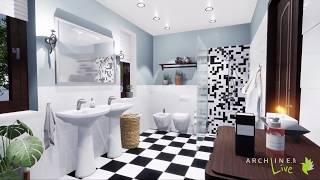 Bathroom visuals by Szilvia Makai - ARCHLineXP LIVE