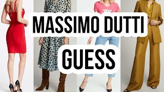 Massimo dutti Guess Новинки весны 2020 Шоппинг влог в Стамбуле
