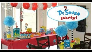 Dr Seuss Themed Party for Kids