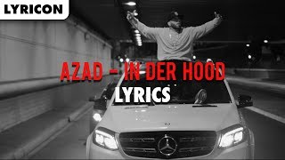 AZAD - IN DER HOOD Lyrics