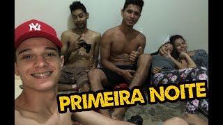 PRIMEIRA NOITE NA NOSSA CASA NOVA, NOSSA ROTINA DO DIA! | VLOG