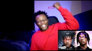 LIT!! Joey Bada$$ vs XXXTENTACION - King's Dead (Freestyle) | REACTION!!!!