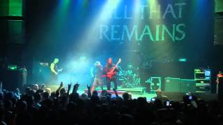 "All That Remains ""What If I Was Nothing"" &  ""Hold On"" Live @ Ohio Metal Fest 2013"