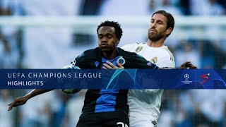 UEFA Champions League | Real Madrid v Club Brugge | Highlights