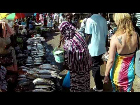 Experience the sights & sounds of The Gambia (PoV HatCam)