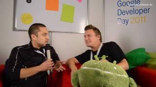 Stefan Keuchel von Google Deutschland im Interview - GTUG Berlin GDD 2011 - androidnext.de