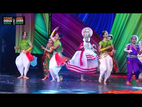 """7 Indian Classical Dance Forms (""""Unity In Diversity) By Students Of Suncity School"""