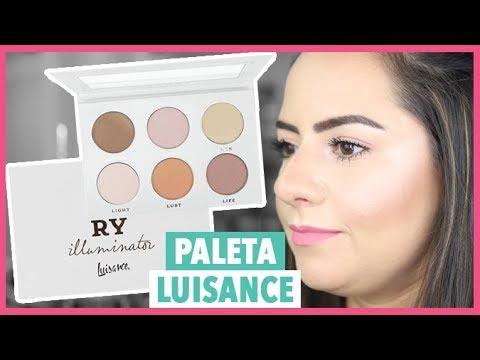 Paleta Luxury Luisance Priscila Paes