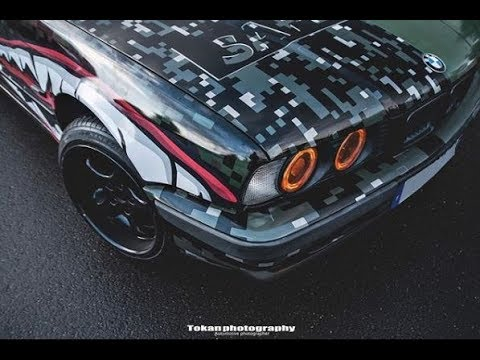 On transforme le E34 de Thomsko en SafetyCar PSR ! | PART 2 |- PSR TV -