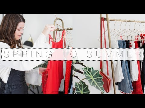 A Day In The Life: Summer Capsule Wardrobe Clear-Out | The Anna Edit