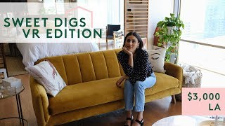 What $3,000 Will Get You In L.A. | Sweet Digs VR 360 | Refinery29 thumbnail