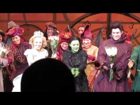 Kara Lindsay's Final Wicked Curtain Call 1/31/16