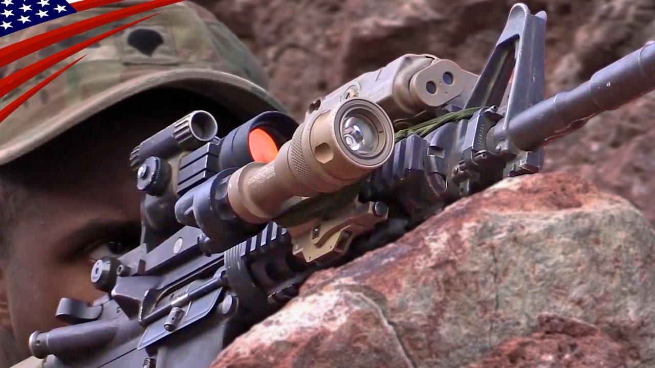 US Army Enemy Ambush Tactics in Djibouti : Ranger Training - アメリカ陸軍の敵の待ち伏せ戦術訓練(レンジャー訓練)