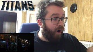 Titans (DC Universe) Robin, Starfire, & Beast Boy Clips Reaction!!!