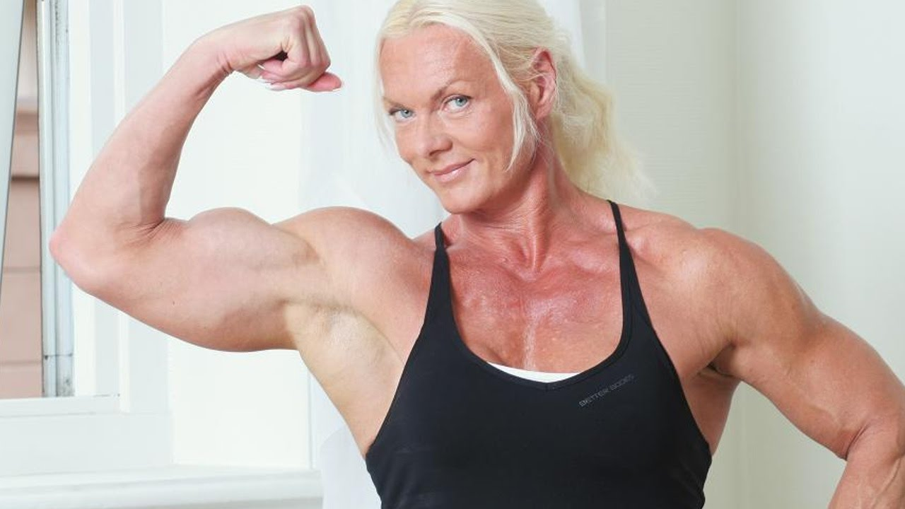 Good, female mature bodybuilders