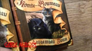 "Мои книги ""Коты Воители."""