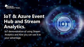 04   Internet of Things Video Series Azure Event Hub and Stream Analytics
