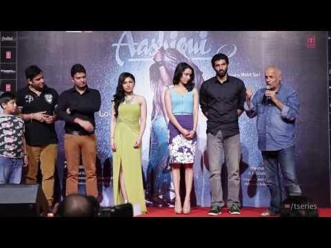 Aashiqui 2 Promotional Event  Delhi  Mahesh Bhatt, Aditya Roy Kapur, Shraddha Kapoor