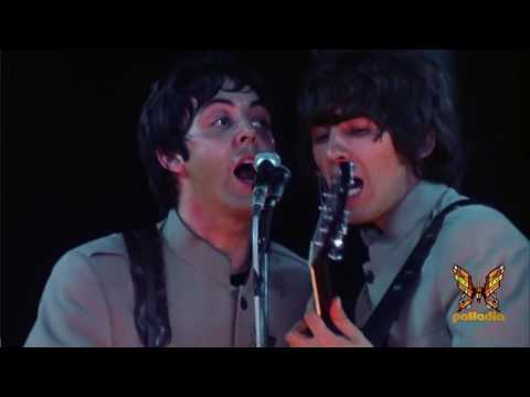 The Beatles - Help - Live Shea stadium 1965 HD