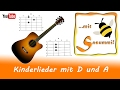 Singen mit Sasummi - Lieder mit D und A (Gitarre mit Akkorden)