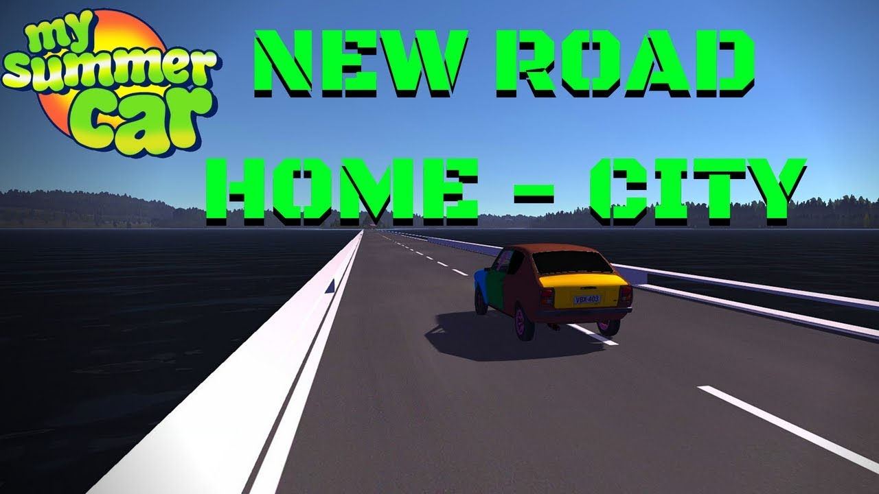 Road Through The Island To The City My Summer Car 98 Mod