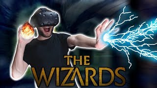 VIRTUAL REALITY SPELL BATTLES! [THE WIZARDS] (HTC VIVE)