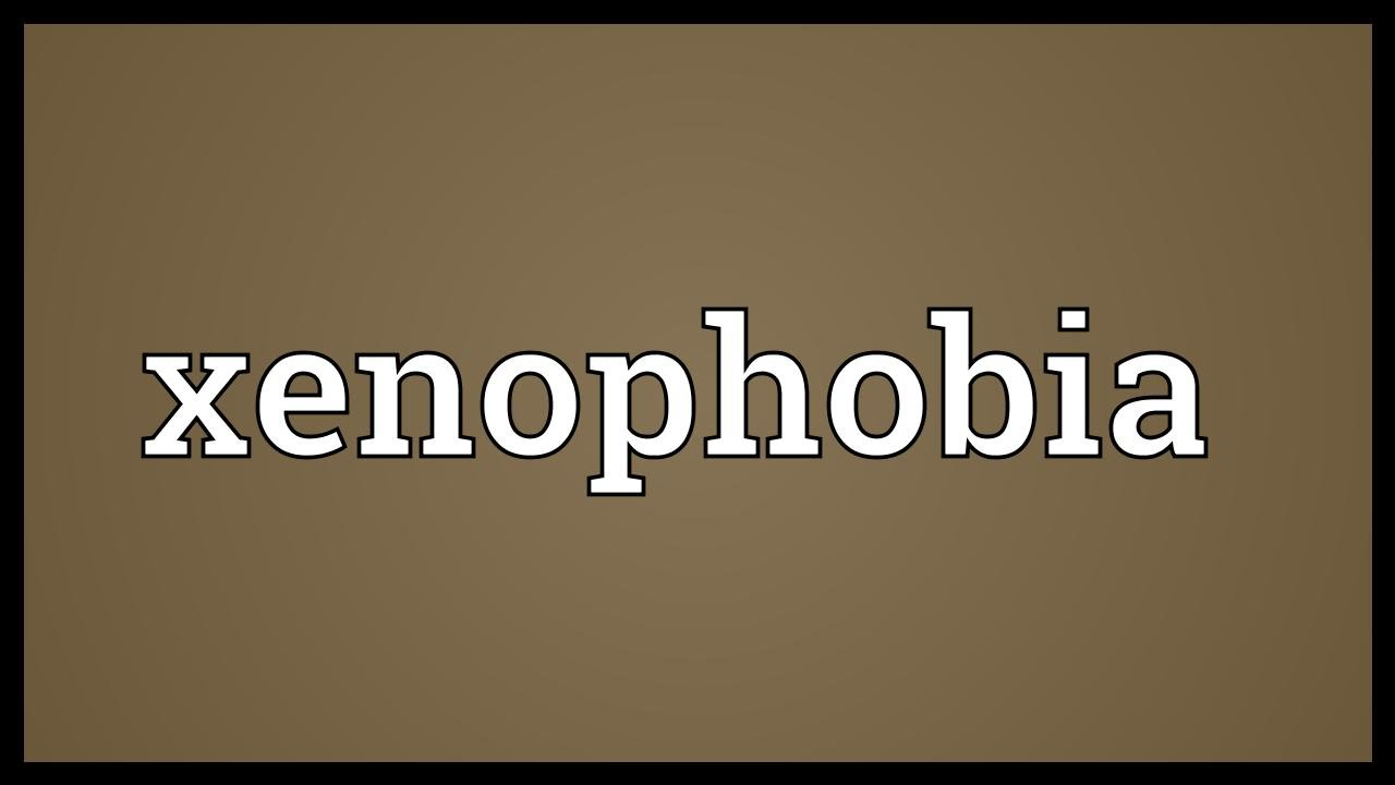 Xenophobia is what the meaning and definition of a word is 78