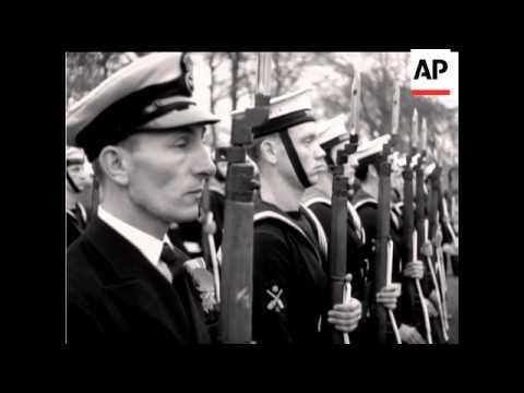 British Fleet Visit  Gdynia - MUTE - 1979