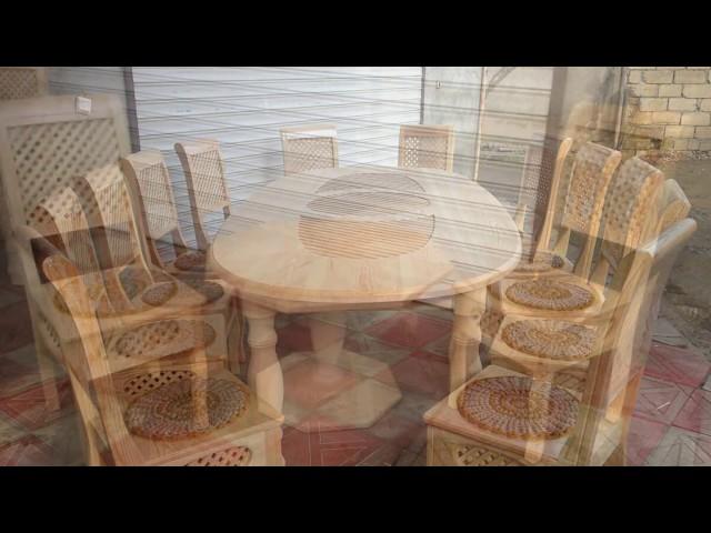 Stol stul /masa ve oturacaqlar