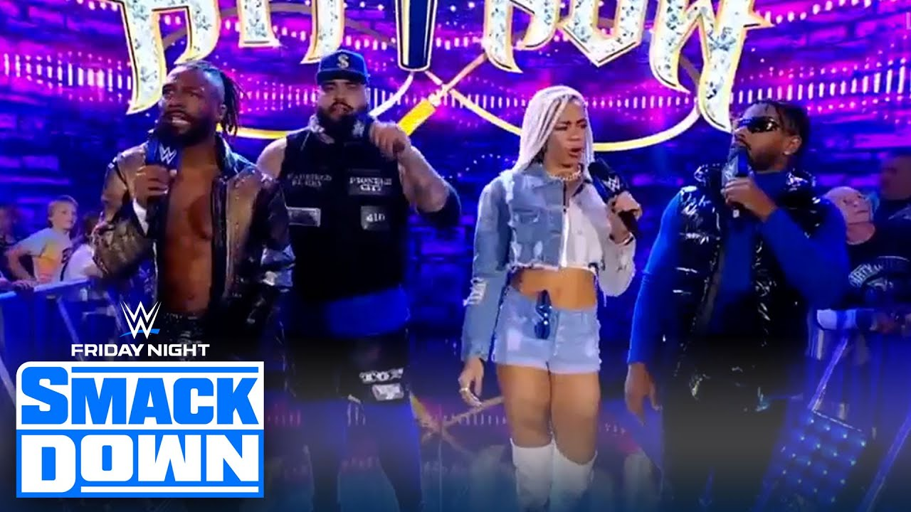 Hit Row debuts on Friday Night SmackDown | Friday Night SmackDown | WWE ON FOX