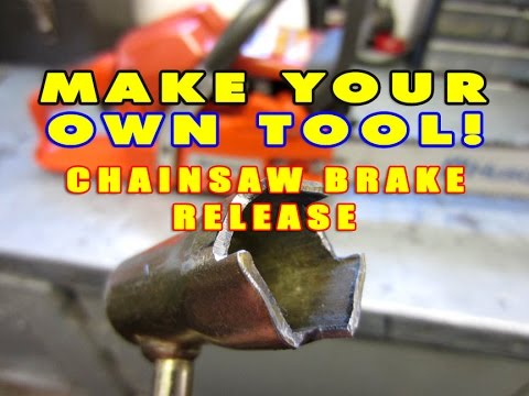 Make Your Own Tool Husqvarna Chain Brake Disengagement