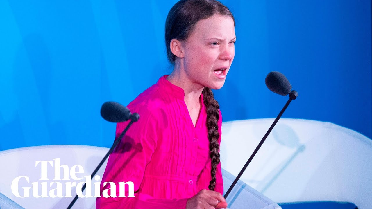 Greta Thunberg To World Leaders How Dare You You Have Stolen My