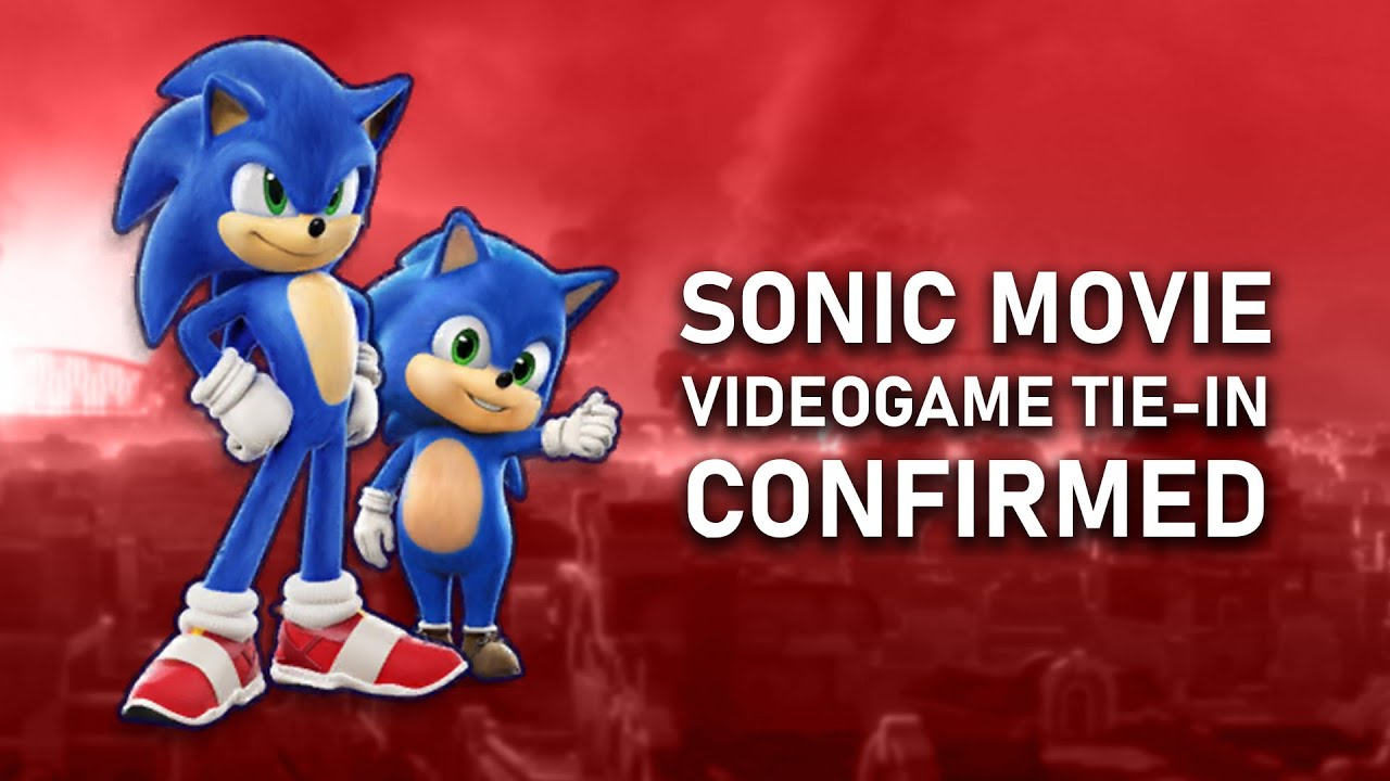 Sonic Movie Videogame And Secret Character Revealed Youtube