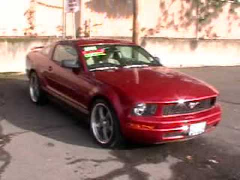2005 ford mustang 4 0l v6 automatic rwd fast youtube. Black Bedroom Furniture Sets. Home Design Ideas