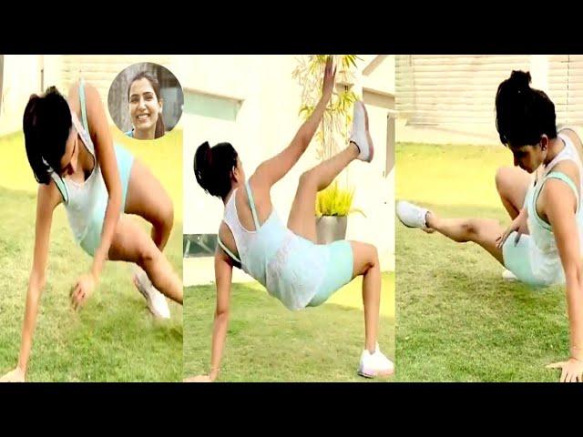 Samantha Akkineni Latest Workout video🔥😍   Samantha Gym Video   Akkineni Samantha   Tollywood Nagar