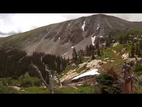 Hiking, Indian Peaks Wilderness, Colorado. Filmed by Richard Hicks Gopro Video02