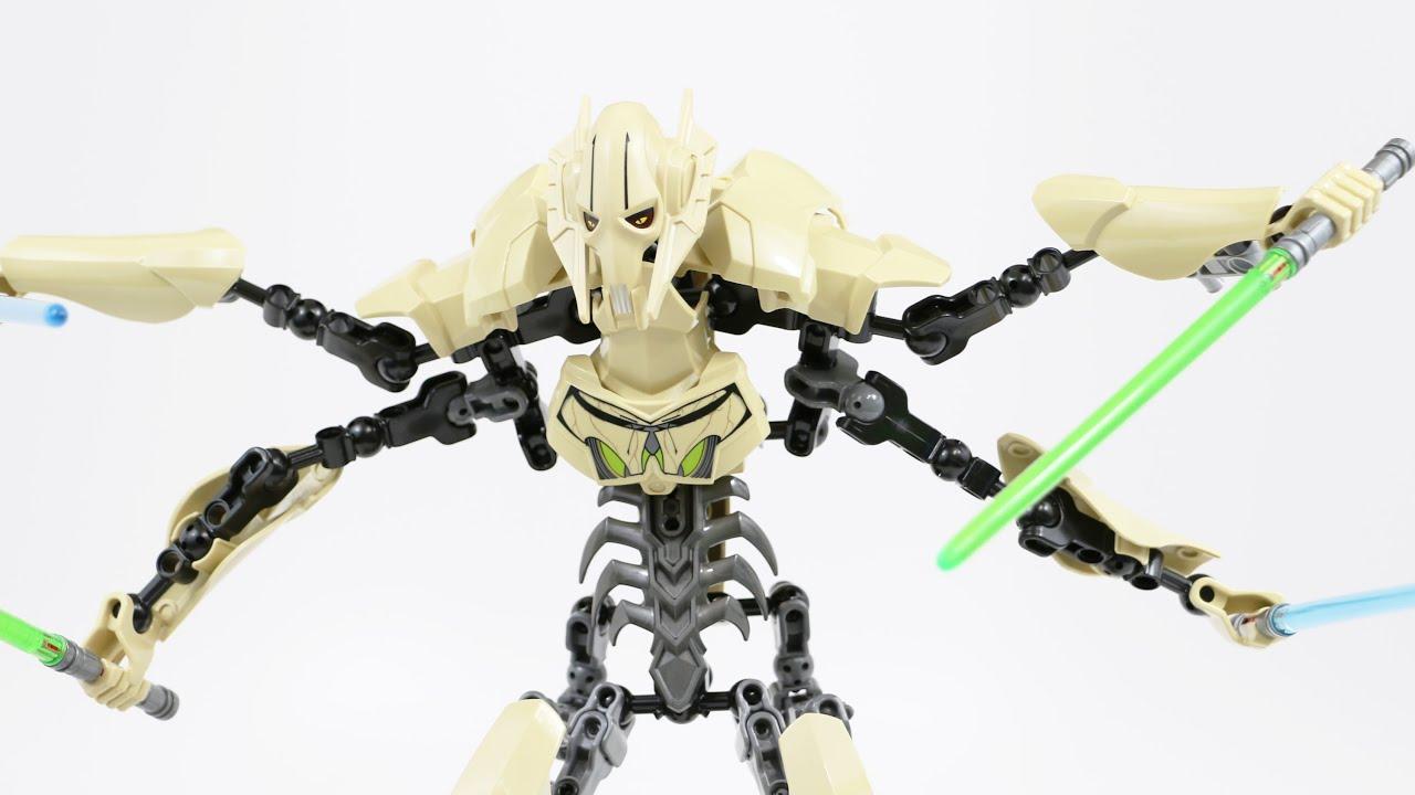 LEGO Star Wars General Grievous Timelapse  Review  Set 75112