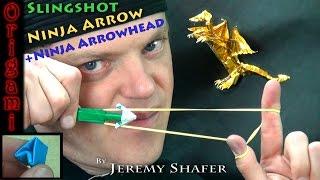 Origami Super Ninja Slingshot Arrowhead